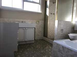 Before photo of this bathroom in Westleigh