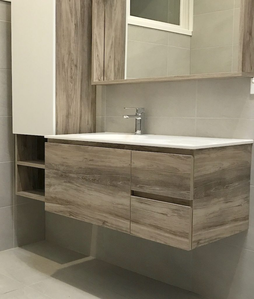 Tallboy with matching vanity.