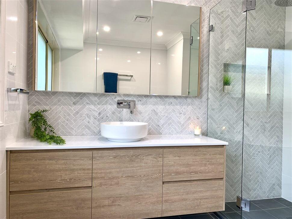 Bathroom Mirror Cabinets, Long Mirrored Vanity Cabinets