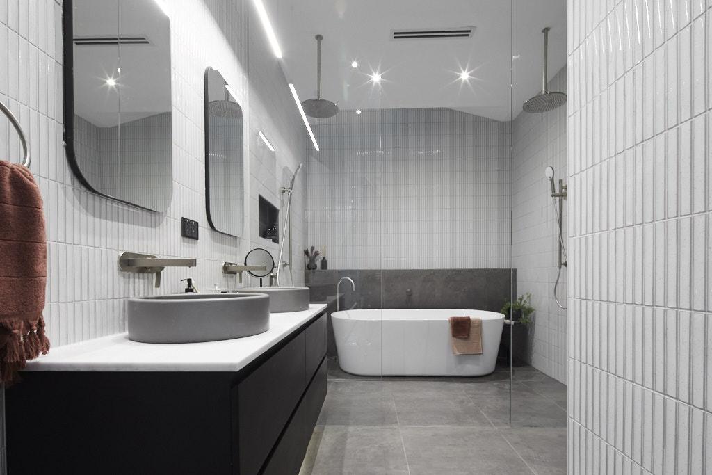 The Block 2019 Bathroom Renovation - Tess & Luke